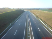 Autobahn, Leitplankenbau, 4.000 m ESP, 1.000 m EDSP BW